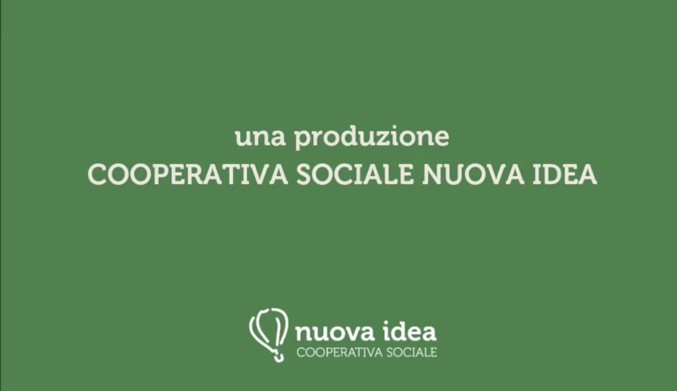 video cooperativa sociale nuova idea