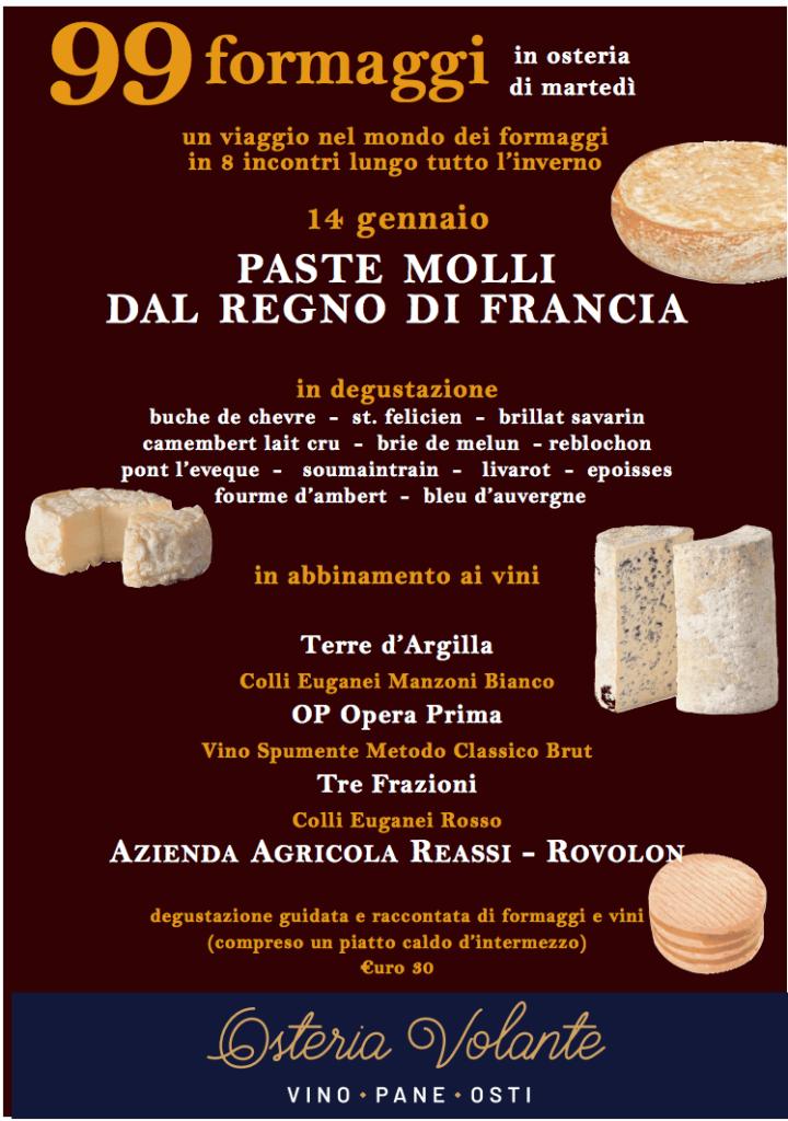 Locandina evento 99 formaggi